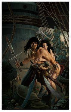 CONAN ROAD TO KINGS COVER 1 by ~Doug-Wheatley on deviantART