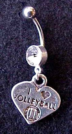Volley ball belly button ring ---- need it