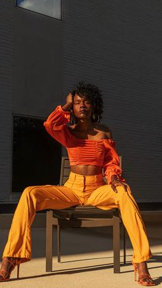 Girl Outfits, Cute Outfits, Fashion Outfits, Photography Poses, Fashion Photography, Black Women Fashion, High Fashion, Brown Skin Girls, Black Girl Aesthetic