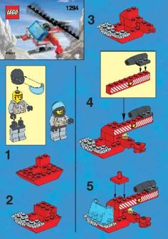 Website with all of the Lego directions.