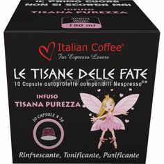 Capsule Infuso Tisana Purezza conf. 10 pezzi