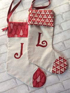 Christmas stockings - CosmopolitanUK Well, these might be my faves. Christmas 2016, Handmade Christmas, Cute Christmas Stockings, Glitter Fabric, Suits You, Color Schemes, Special Occasion, Monogram, Luxury