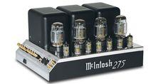 Amplificateur de puissance à tubes Mc Intosh MC275 : Un son chaud, sensuel et charnel. #EasyLounge #amplifier #mcintosh