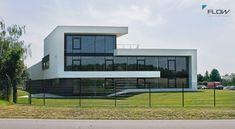 Modernes Bürogebäude bauen, Neubau massiv & schlüsselfertig