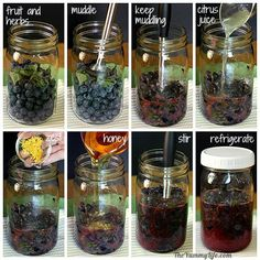Naturally flavored fruit & herb honey syrups to stir into hot and cold tea, sparkling water, cocktails, yogurt, smoothies and more. From TheYummyLife.com