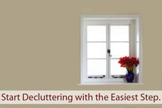 Go Ahead. Start Your Decluttering with the Easiest Step | Becoming Minimalist