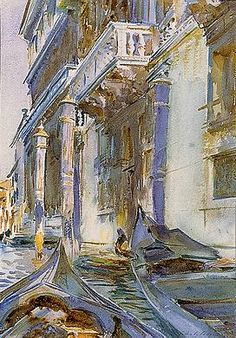 John Singer Sargent, On the Grand Canal, c. 1907 Private Collection Copyright © 2012 National Gallery of Art, Washington D.C.