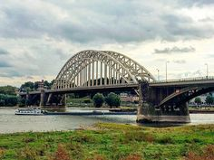 Waal bridge Netherlands Nijmegen