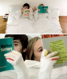 guantes para leer