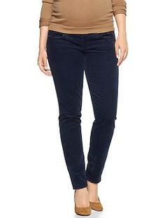 The most comfortable maternity pants in the universe!! 1969 demi panel always skinny cords