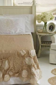 Vintage Doily Bedspread DIY - 15 More Fascinating Doily Crafts You'll Want To Make Immediately!