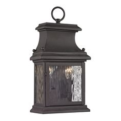 You'll love the Forged Provincial 2 Light Outdoor Wall Lantern at Wayfair - Great Deals on all Kitchen & Dining products with Free Shipping on most stuff, even the big stuff.