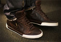 Brown Nikes