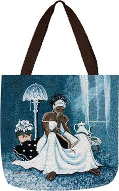 My Cup Runneth Over - Annie Lee - totebag
