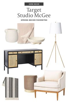 Living Room On A Budget, Living Rooms, Hipster Home Decor, Upholstered Accent Chairs, Studio Mcgee, Affordable Home Decor, Hipsters, Family Rooms, Decorating Blogs