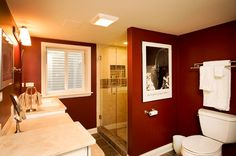 What's the difference between designing a basement bathroom vs. any other bathroom? Check out the latest basement bathroom ideas today! Basement bathroom, Basement bathroom ideas and Small bathroom. Small Basement Bathroom, Bathroom Cost, Half Bathroom Remodel, Bathroom Floor Plans, Small Space Bathroom, Modern Basement, Old Bathrooms, Bathroom Plumbing, Bathroom Layout