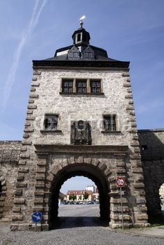Inneres Frauentor in Mühlhausen (Thüringen)