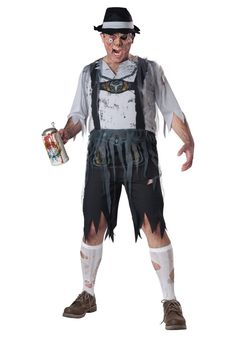 Eerie Zombie Costumes for Men to wear this Halloween - Outfit Ideas HQ