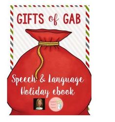 SLP Resource of Week! Gifts of Gab! 70 Freebies for December - pinned by @PediaStaff – Please Visit  ht.ly/63sNt for all our pediatric therapy pins