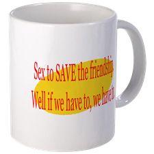 Seinfeld Save Friendship Mugs