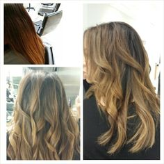Ombre refresher going for a more rooty look. #mariotricoci #mariotricociarlingtonheights #bymario #bydemia #ombre Style by @davidgstylistmt