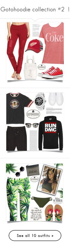 """""""Gotohoodie collection #2  !"""" by samra-bv ❤ liked on Polyvore featuring Electric Yoga, Junk Food Clothing, American Needle, Converse, French Connection, Balmain, Marc Jacobs, Gucci, men's fashion and menswear"""