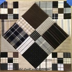 A Quilt and A Prayer: Scrappy Nines - Finally!