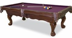Bella Marie pool table line from the C.L Bailey company available at viscountwest.com