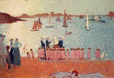 Maurice Denis, French Symbolist painter (1870-1943):
