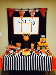 Basketball Candy Bar Jacob's 13 Birthday