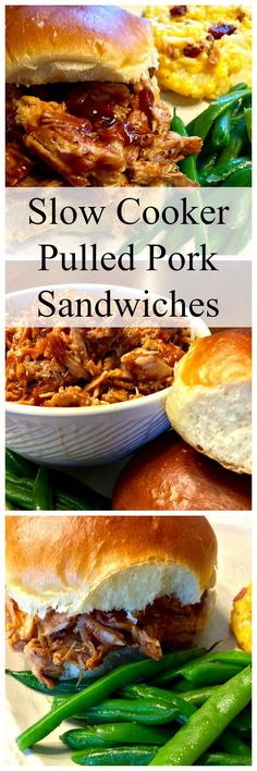 Southern Pulled-Pork Sandwiches Recipe — Dishmaps