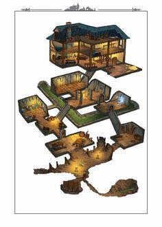 Haus + U-Bahn - Mine Minecraft World Minecraft Crafts, Minecraft Designs, Minecraft World, Minecraft Plans, Minecraft Tutorial, Minecraft Blueprints, Cool Minecraft, Minecraft Survival, Minecraft Memes