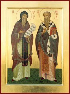 ROUTE ICONS - Ateliers ikonopisania / Le Chemin de Icon - Iconographie Atelier: Icône des saints Cyrille et Méthode