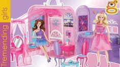 Barbie Casa Pop star - Barbie Maletín Habitación Princesas - juguetes ba...