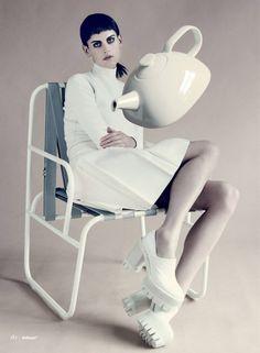 Saskia de Brauw For Wallpaper's September Issue | Trendland: Design Blog & Trend Magazine