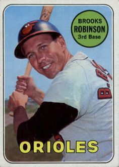 1969 Topps #550 Brooks Robinson Front