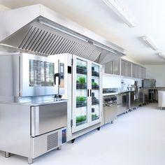 Eat-in Kitchen: An Undercounter Herb Garden - Gardenista Mini Kitchen, Eat In Kitchen, Kitchen Small, Kitchen Appliance Storage, Kitchen Appliances, Kitchen Refrigerator, Kitchen Colors, Kitchen Design, Murphy Bed Ikea
