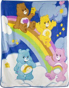 Microfiber Care Bears Blanket