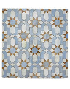 moroccan tile pattern that might work for quilting