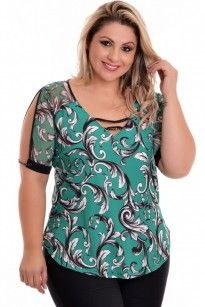 Blusa Plus Size Angelica