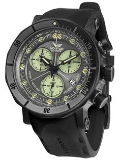 VOSTOK EUROPE Lunokhod 2 Chronograph Diver`s Watch 6204212