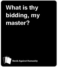 This is similar to another game you may have heard of, but it is not that game. It can be played on its own, without having that other game. It's full of geeky and. Cards Against Humanity Game, How To Make Light, Blank Cards, Growing Up, Nerd, Humor, Game Night, Memes, Funny