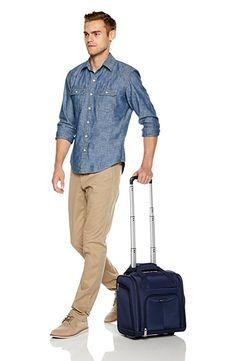 Amazon.com: AmazonBasics Underseat Luggage, Black: Clothing
