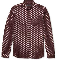 Burberry ProrsumPolka-Dot Cotton Shirt MR PORTER