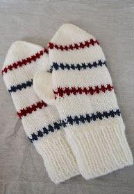 Lindas Lantliga: Mönster Pippivantar Knitting For Kids, Baby Knitting, Stick O, Knit Mittens, Knit Crochet, Winter Fashion, Crochet Patterns, Gloves, Cool Stuff