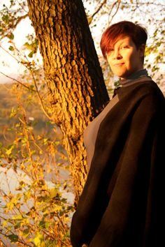 READY TO SHIP  Black cloak wool viking cape by RavenThreadsLab