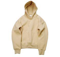 Light Brown Khaki Drop Shoulder Hoodie (Yeezy) // Streetwear fashion // Zargara // www.babesngents.com