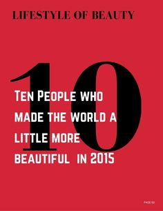 Beautiful People Who made the World a lIttle more Beautiful in 2015 and ...