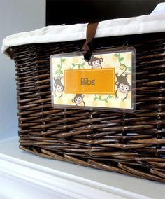 Baskets for bookshelf...labels would be wonderful. I will be making these just have to figure out what can go in there and theme...