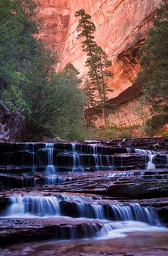 ✯ Archangel Cascades - Utah ~ Going soon! Oh The Places You'll Go, Places To Travel, Places To Visit, Beautiful World, Beautiful Places, Beau Site, Les Cascades, To Go, Beautiful Waterfalls